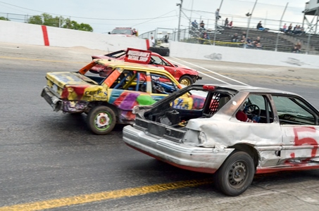 Schedule of Events and Racing Lineup for Saturday, July 4