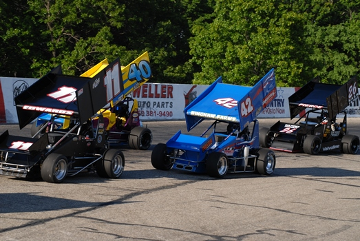 Schedule of Events and Racing Lineup for Saturday, July 25