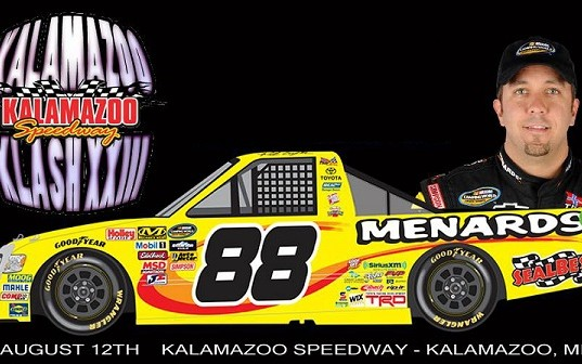 Matt Crafton Climbs into Kalamazoo Klash Ride