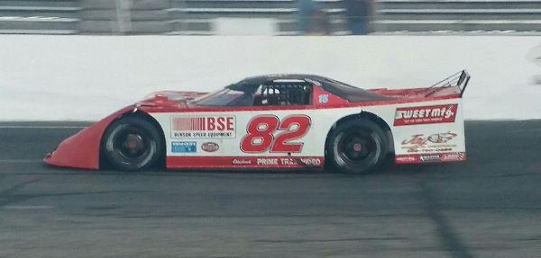 Thomas, Kern Pace Klash Practice at Kalamazoo Speedway