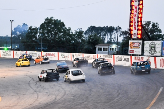 Schedule of Events and Racing Lineup for Sunday, September 6