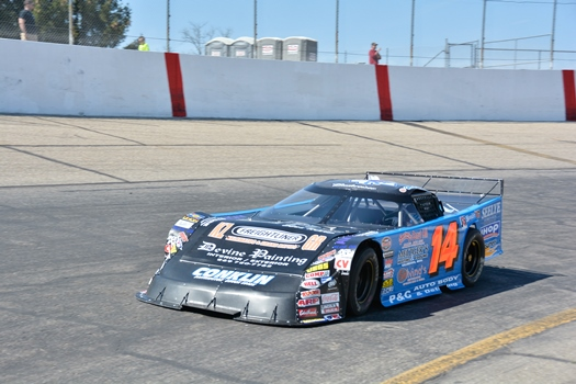 Shook Tops Final Pre-Season Test Before Friday's Intimidator 100 @ the Zoo