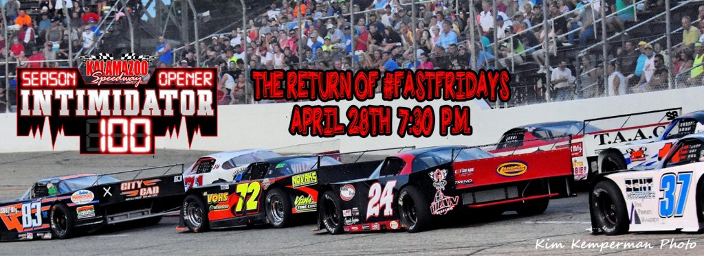 Season Opener – Full 5 in 1 NASCAR Racing Program - Intimidator 100 for the Outlaw Super Late Models