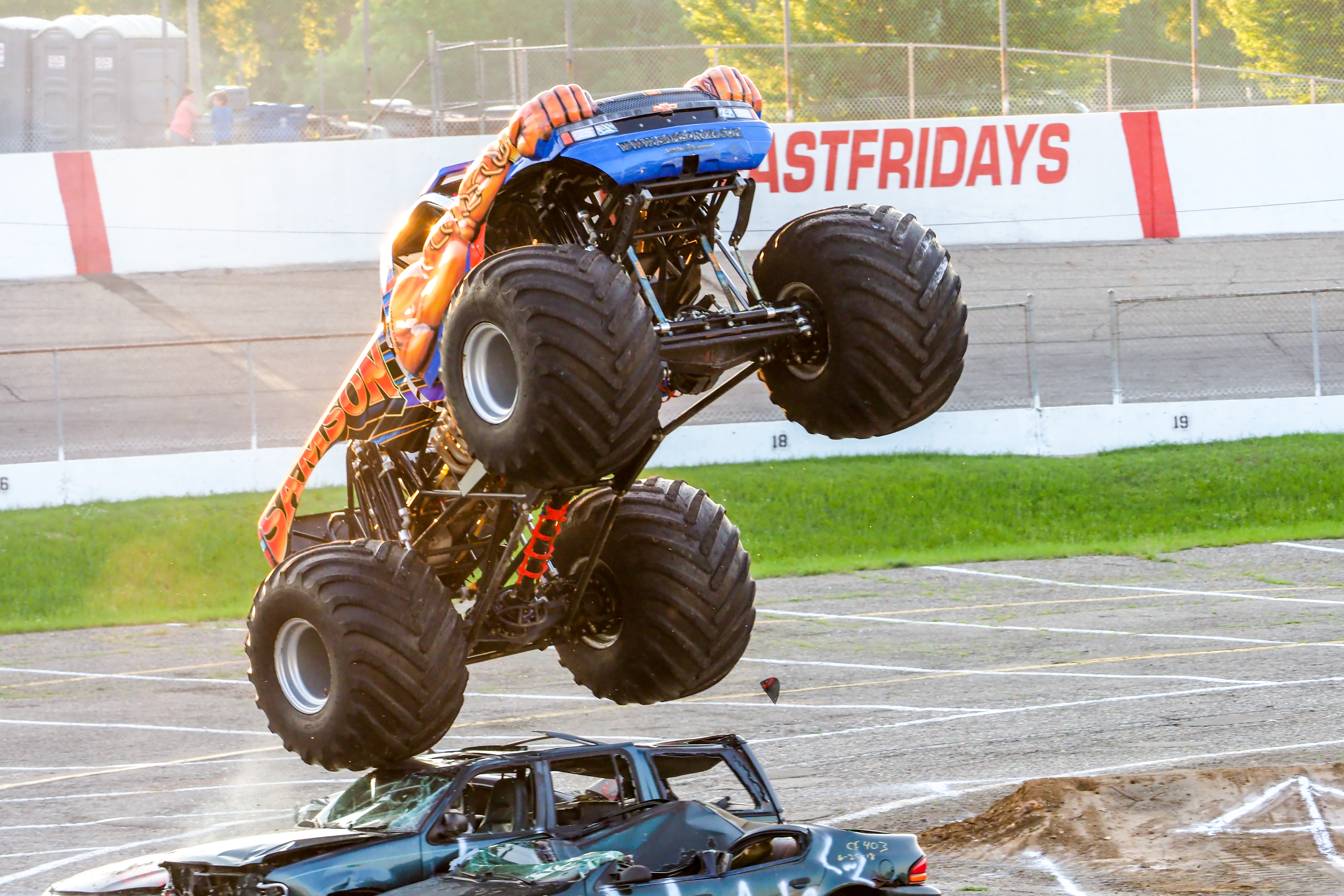 Red White & Boom – Night of Thrills & Spills Featuring Monster Trucks, Motocross Aerial Stunt Show, Stunts By Scarecrow and SW Michigan's #1 Fireworks Spectacular!