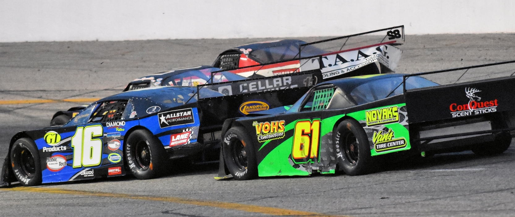 KALAMAZOO KLASH XXIX - OUTLAW SUPER LATE MODELS $10,000 to win with TEMPLATE LATE MODELS $5,000 to win