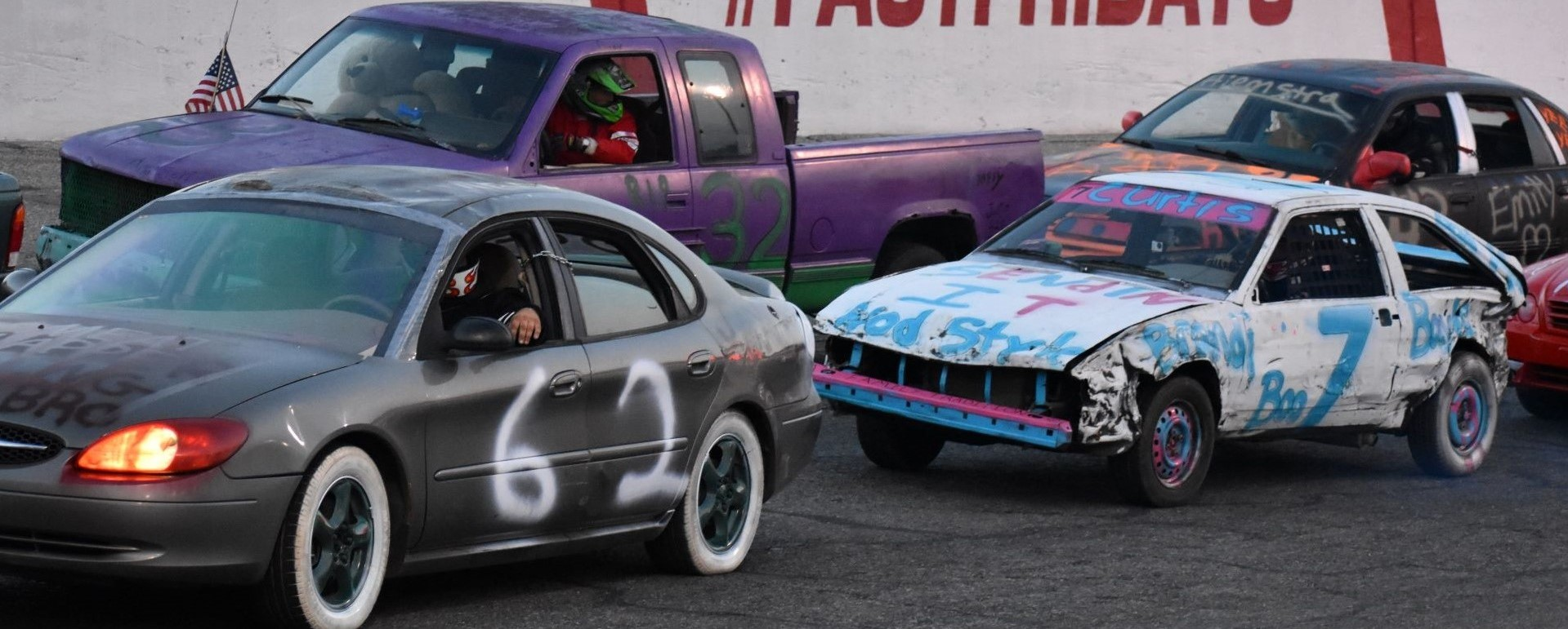 'MERICA 200 ENDURO plus - STACKER CARS - MCR DWARFS - SPECTATOR DRAGS - FIREWORKS!