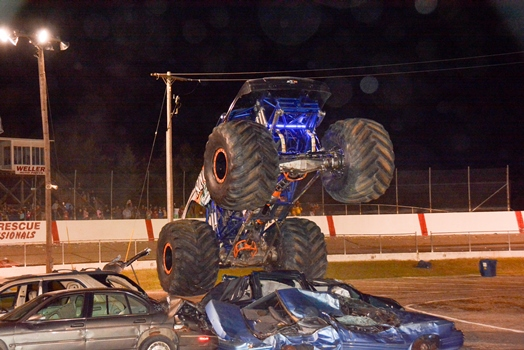 Night of Destruction 2017 - Thrills, Spills, Stunts, Monster Trucks, Novelty Races, Bus/Trailer Races & More