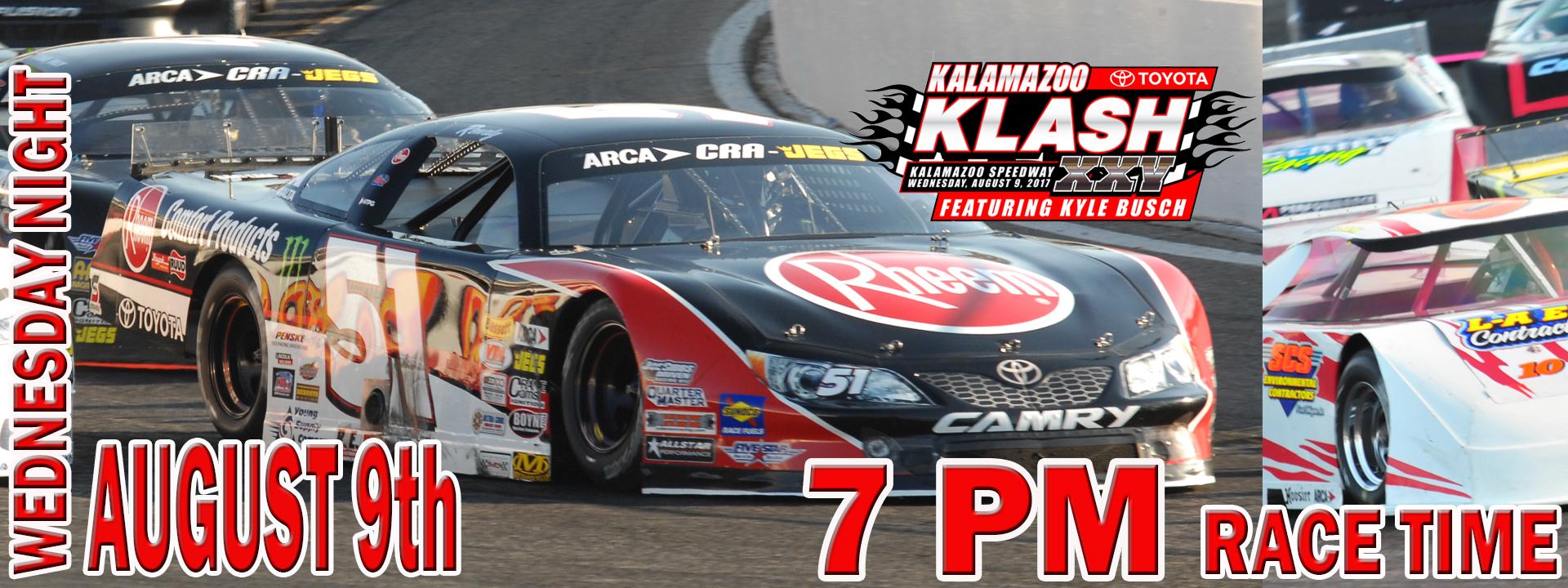 Kalamazoo Klash  XXV Presented by West Michigan Toyota Dealers & ARCA/CRA Super Series