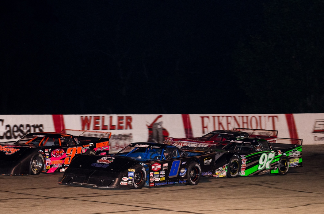 Lane 75 for the Outlaw Super Late Models - Street Stocks, Outlaw FWD & Zoo Stocks - No Late Model Sportsman
