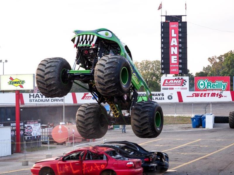 NIGHT OF DESTRUCTION - Monster Trucks & Trailer Races - Bus Wars & Car Games - Scarecrow's Newest Stunts - Bus & Monster Truck Rides - FIREWORKS SPECTACULAR